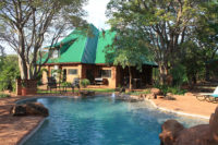 Bongwe House Livingstone accommodation