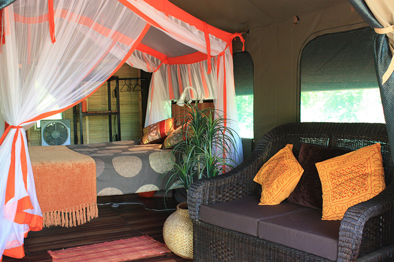 Bongwe Livinbgstone Accommodation Tents